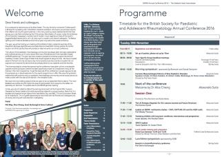 BSPAR 2016 Programme