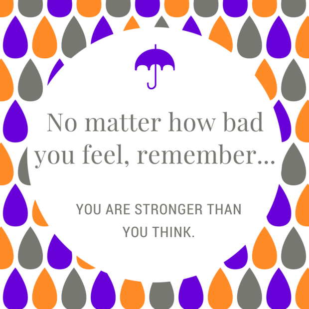 No matter how bad you feel, remember...