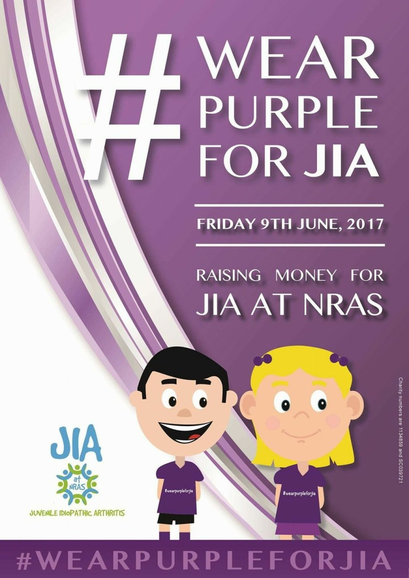Wear Purple for JIA