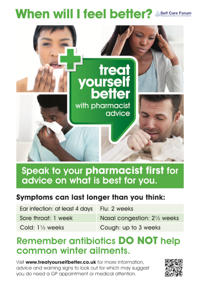 140917-Treat-Yourself-Better-with-Pharmacist-Advice-GP-Poster-Self-Care-Forum-Logo
