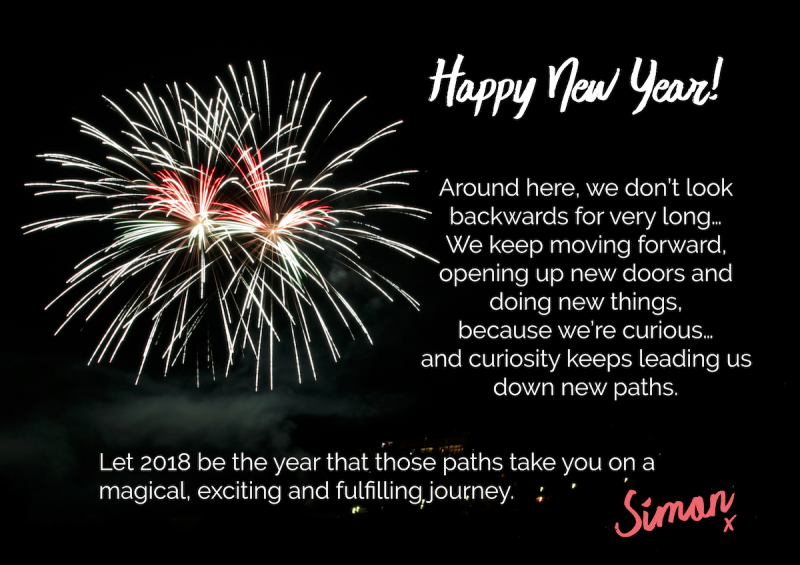 Simon - New Year 2018 Email