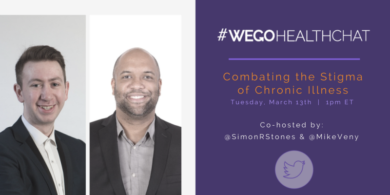 WEGO Health Chat March 13th