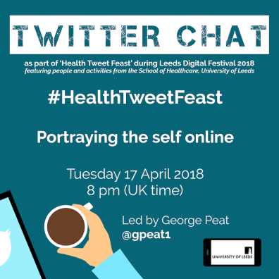 Health Tweet Feast - Identity Welcome