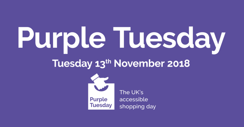 Purple Tuesday Banner